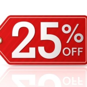 25% OFF When You Bundle THREE or More Items!